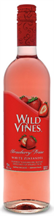 Wild Vines White Zinfandel Strawberry 750ml - Case of 12